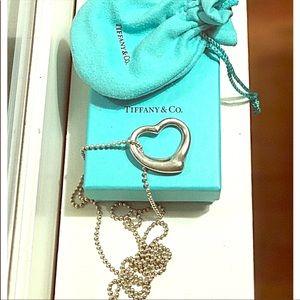 Elsa Peretti Open Heart Necklace TIFFANY & CO
